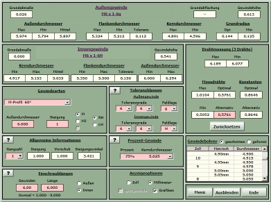Unc gewinde tabelle pdf